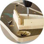 Встроенные магниты для шурупов и гвоздей